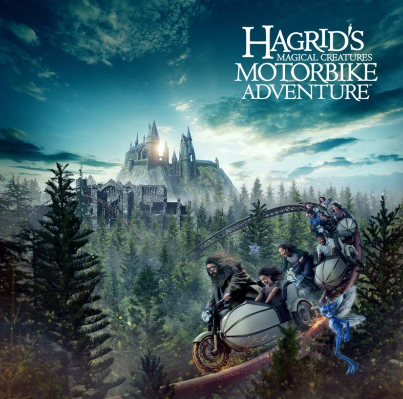 Hagrid S Magical Creatures Motorbike Adventure Officially Opens On June 13 2019 At Islands Of Adv Wizarding World Universal Orlando Resort Orlando Theme Parks