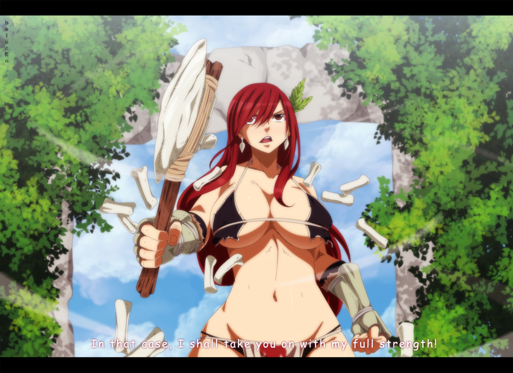 Fairy Tail Stone Age - Erza By BelucEn