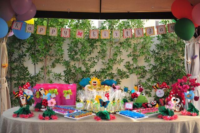 Sofias Garden Birthday Party