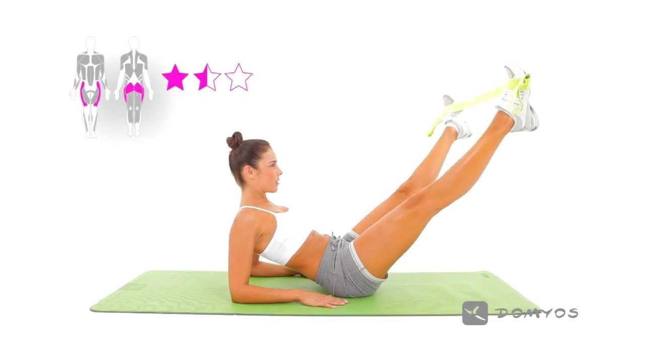 Populaire DOMYOS] ELASTIBAND - Exercice 9 | YT sport | Pinterest | Workout  CC75