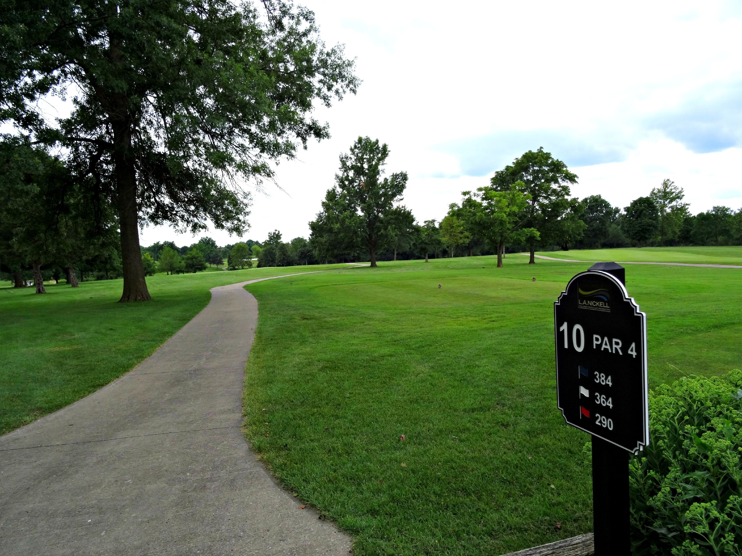 L A  Nickell, 18 hole golf course located within Cosmo Park