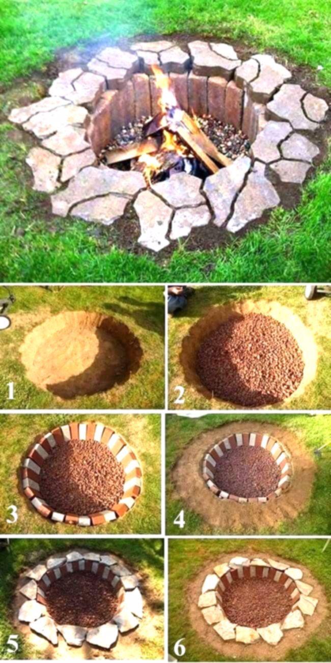 Ideen, um Ihren Garten zu einem schönen Rückzugsort zu machen! #firepit #backyardretrea …