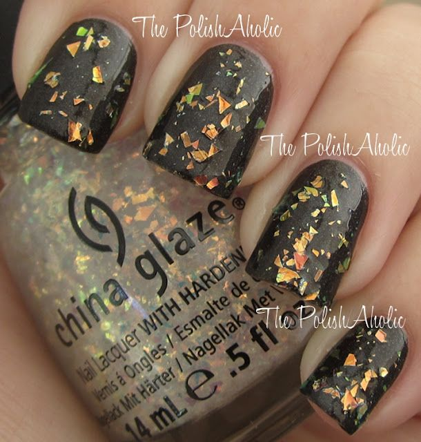 Luxe and Lush from the Hunger Games nail polish collection over a ...