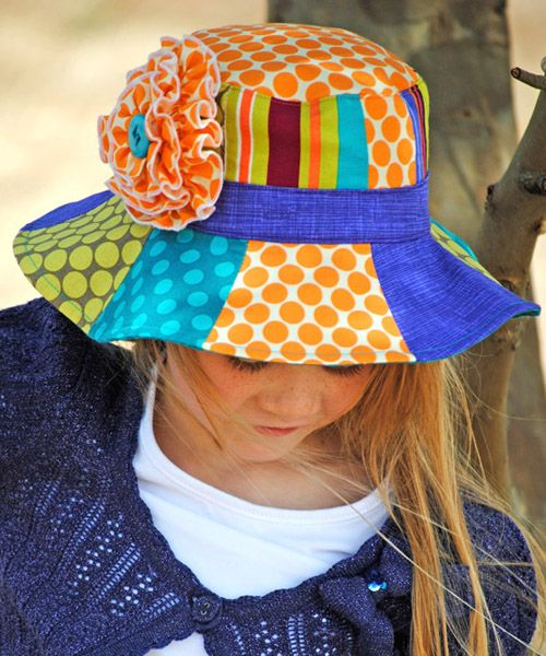 b1049d240c6355 Summer Daze Hat sewing pattern | The best sewing patterns for women, girls,  toys and more. Go To Patterns & Co.