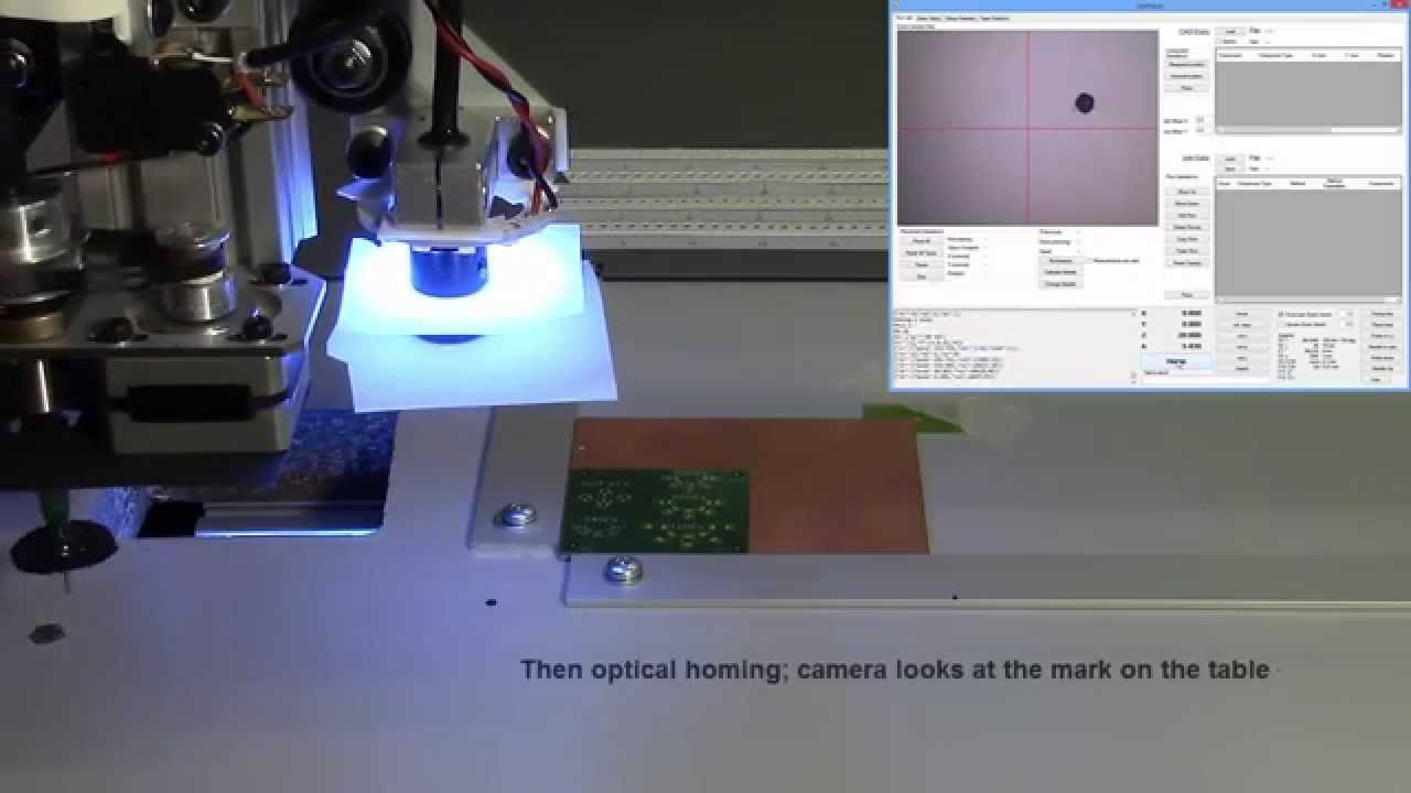 Another step closer to desktop manufacturing - compact and low-cost pick-and-place machine
