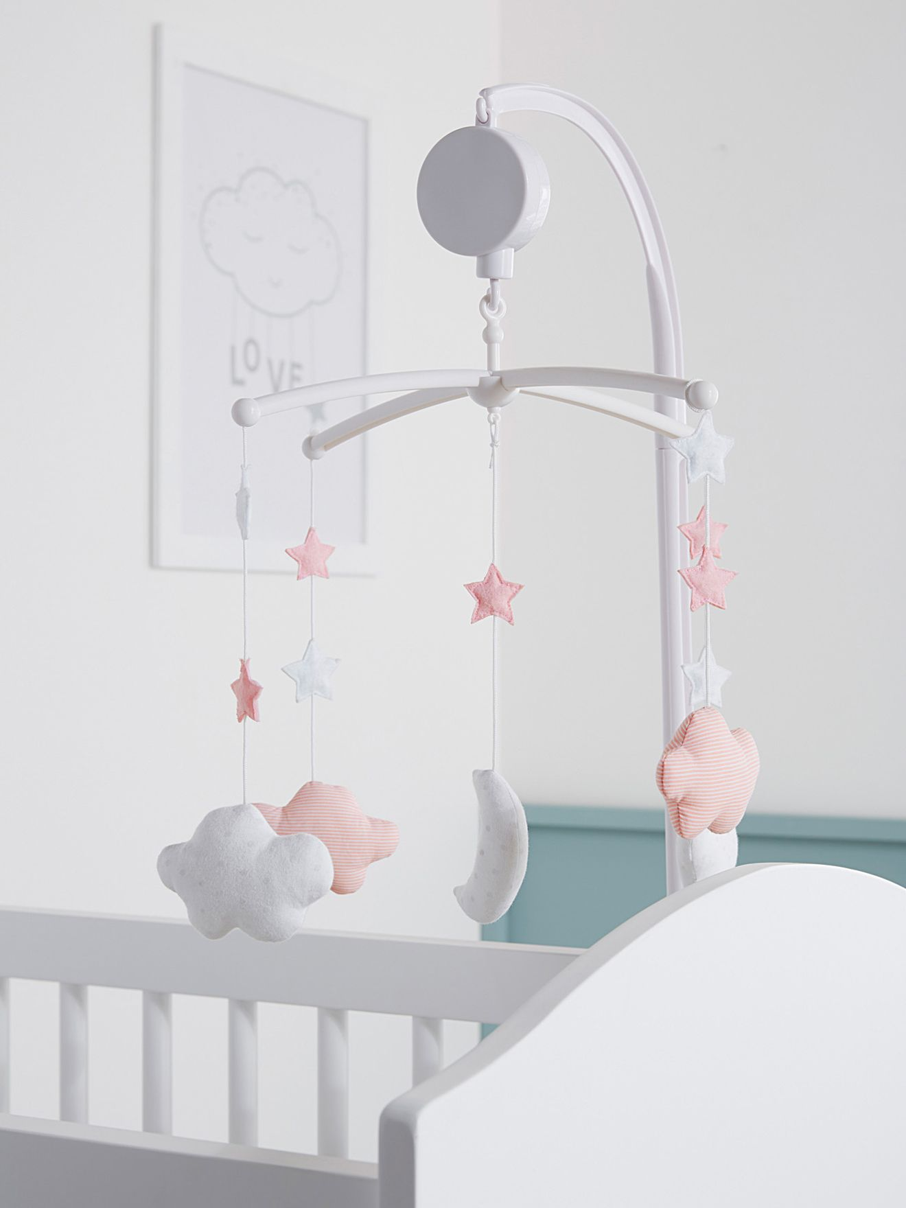 Mobile musical chambre b b collection printemps et 2016 poussez - Mobile musical bebe fille ...