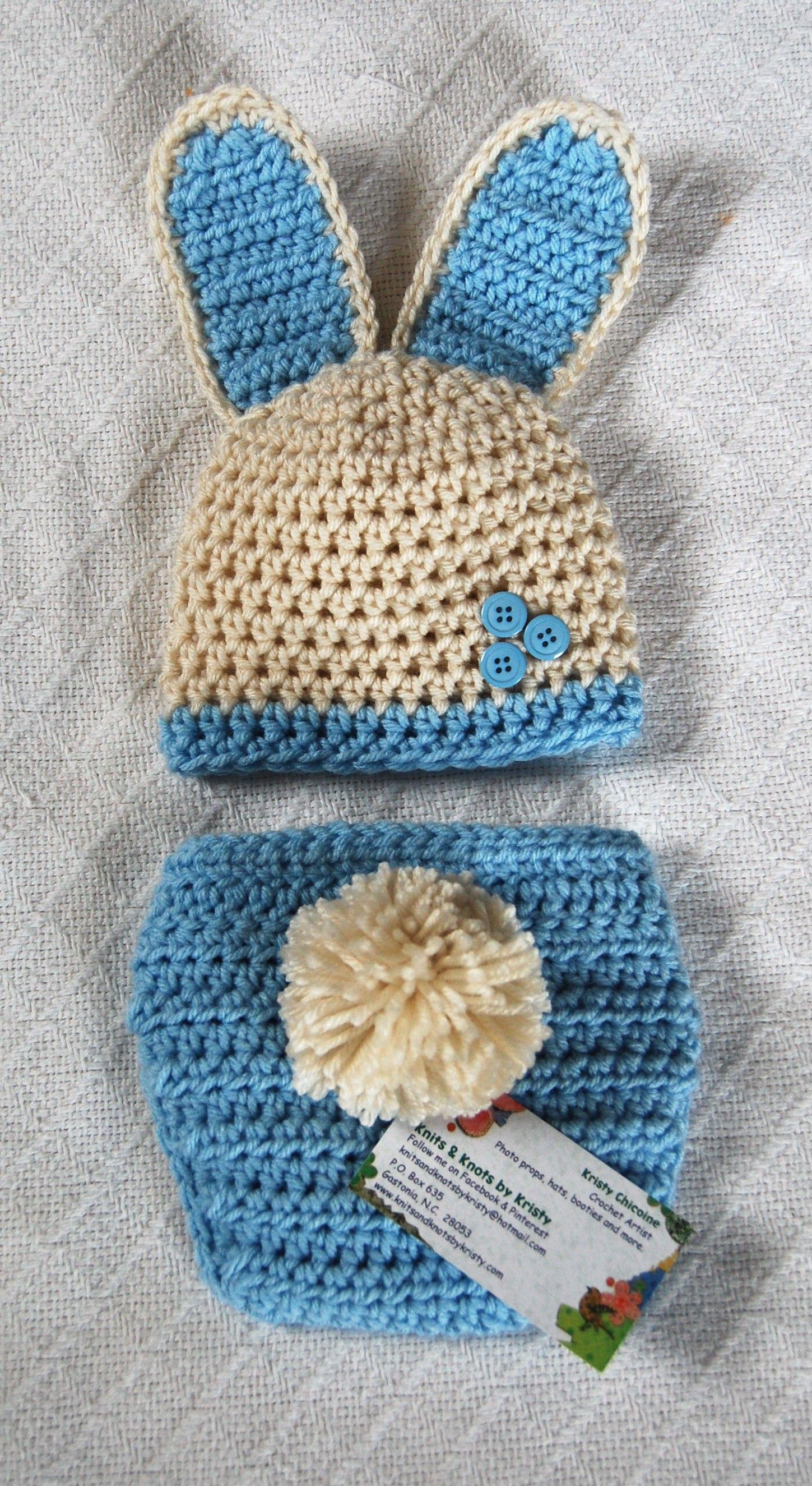 Boy Bunny, Crochet, Photo Prop | crochet | Pinterest | neugeborene ...