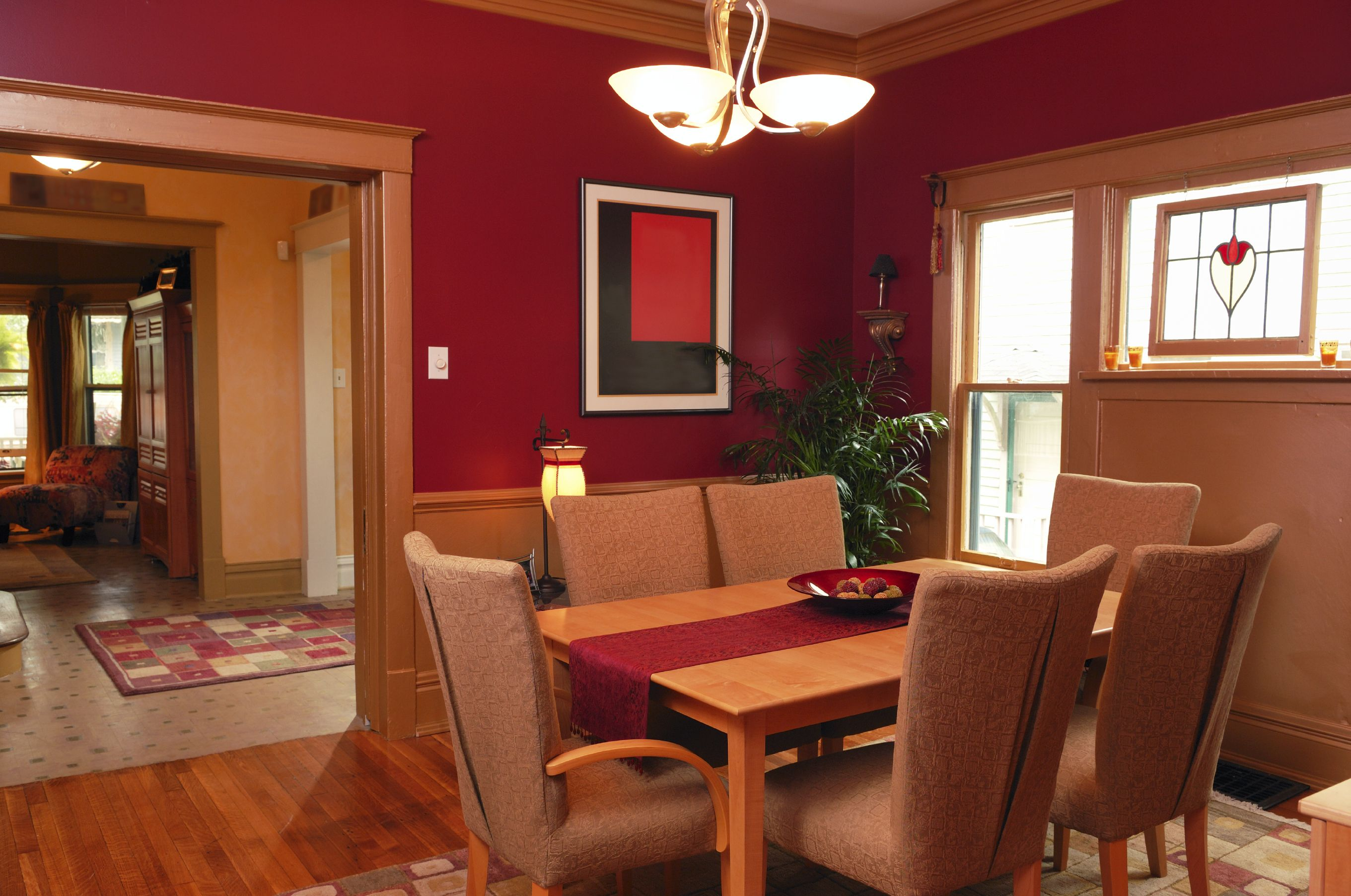 red dining room color ideas. Dining Room Paint Colors Scheme Idea for Your Creation  Marvelous Area With Red Paints Color On The Classic Dinin Best to a Interior