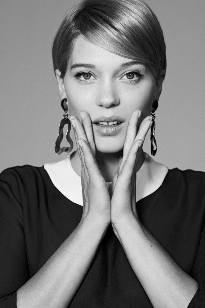 Lea Seydoux Short Hair Buscar Con Google Beaut Pixie