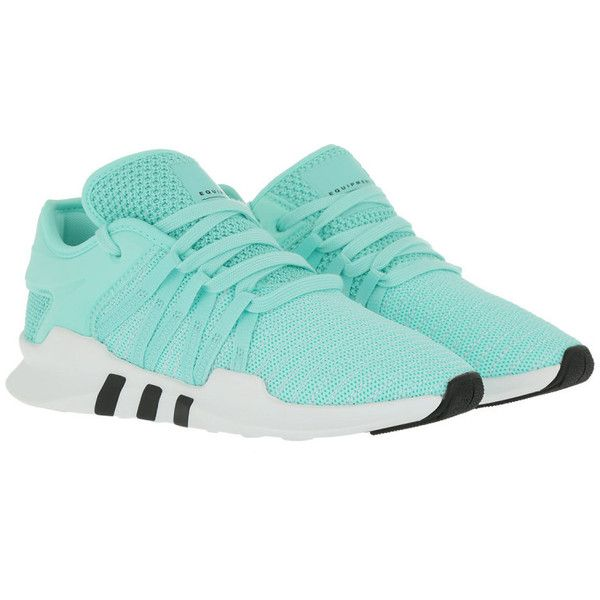 save off 0d59a 01a93 adidas Originals Sneakers - Eqt Racing Adv W EneaquEneaquFtwwht - in...  (110) ❤ liked on Polyvore featuring shoes, sneakers, athletic shoe, green,  ...