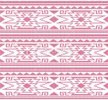 This is a solid red aztec style or peruvian knit pattern design aztec peruvian knit pattern royalty free stock vector art illustration dt1010fo