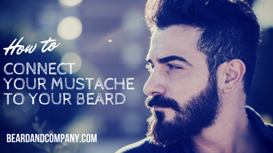 How To Connect Your Mustache To Your Beard Men S Beard Pinterest