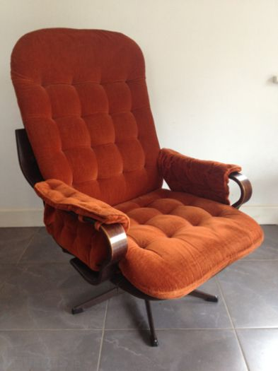 Retro Sessel Gebraucht Retro Vintage Swivel Armchair | Furniture And Decor
