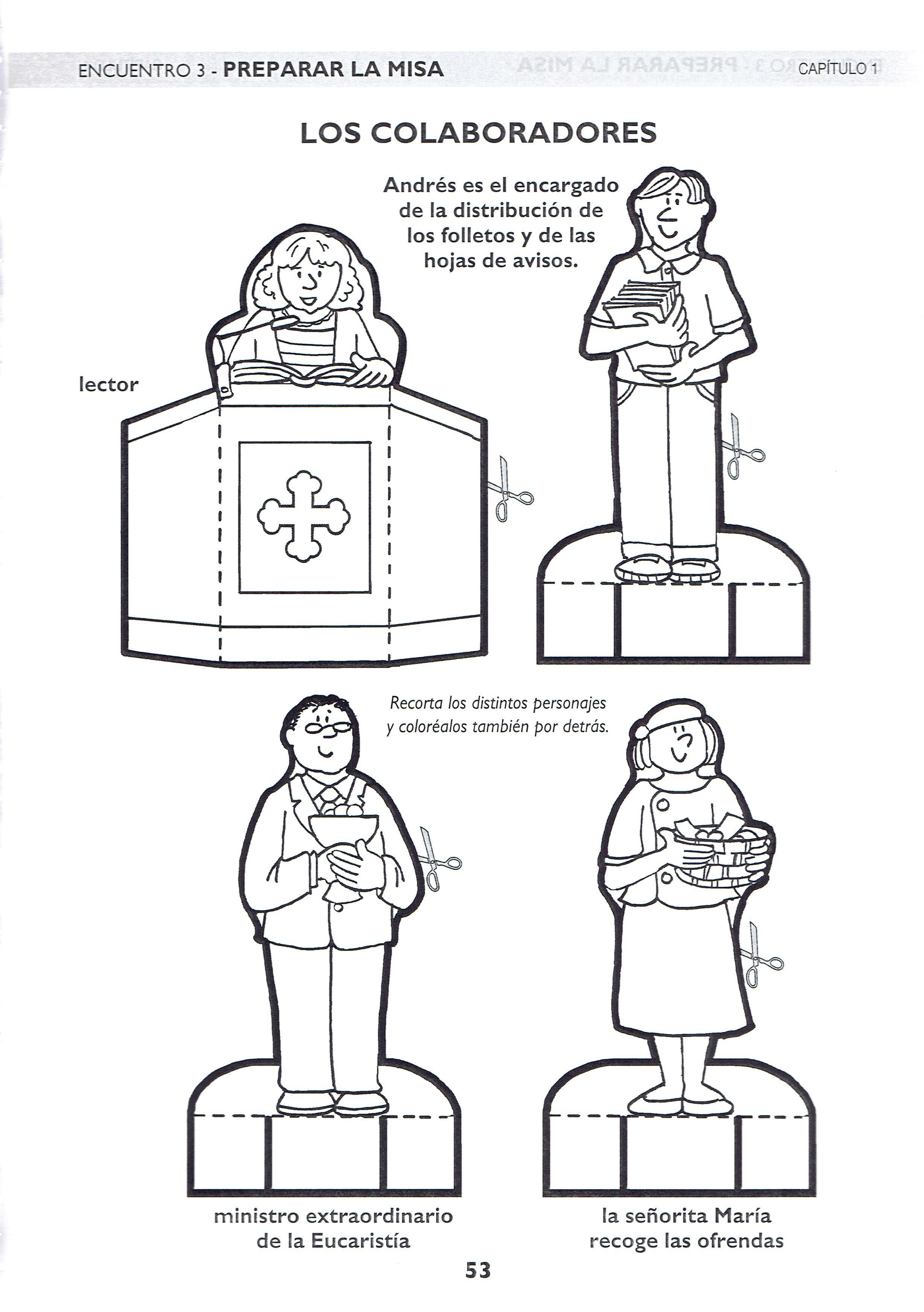 Descubrir La Misa Colaboradores Educacion Religiosa Catecismo Y Ninos Catolicos