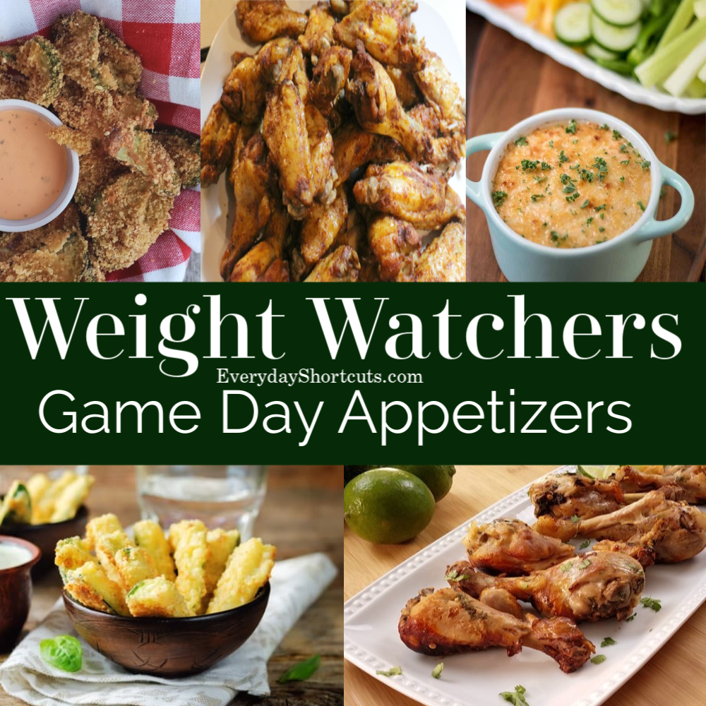 Weight Watchers Game Day Appetizers - Everyday Shortcuts