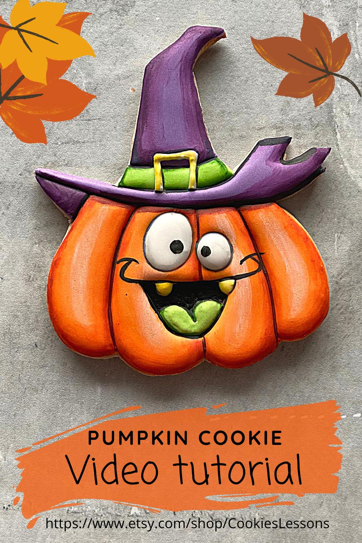 Halloween cookie class Pumpkin Etsy in 2020 Halloween