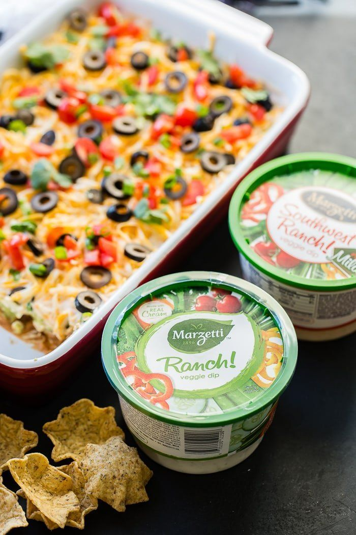 The Best Mexican 7 Layer Dip #7layerdip Mexican 7 Layer dip is refried beans, guacamole, southwest ranch, cheese, olives, tomatoes and green onions! ohsweetbasil.com #7layerdip The Best Mexican 7 Layer Dip #7layerdip Mexican 7 Layer dip is refried beans, guacamole, southwest ranch, cheese, olives, tomatoes and green onions! ohsweetbasil.com #7layerdip
