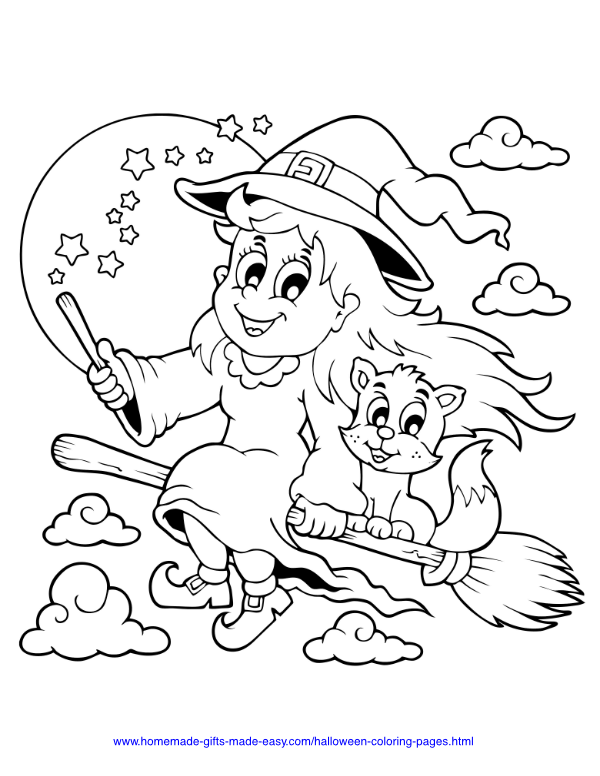 50+ Free Halloween Coloring Pages PDF Printables ...