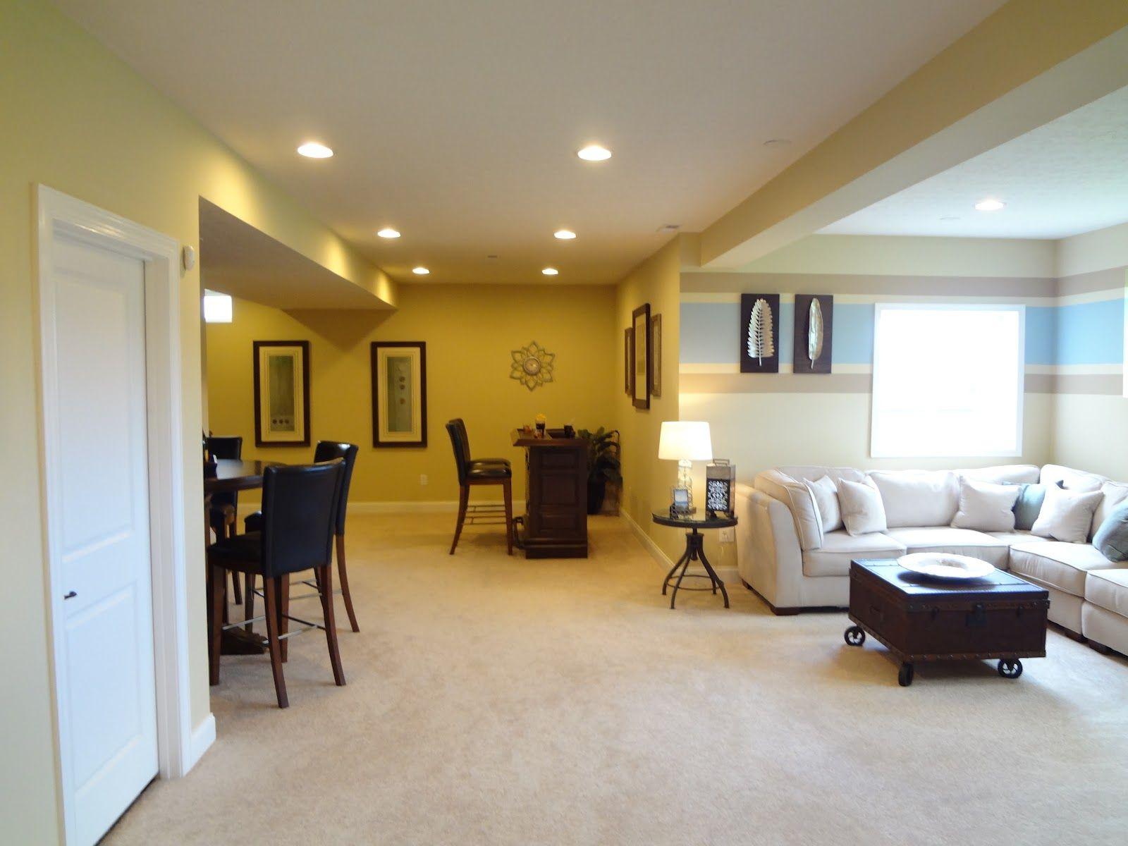 Finished Basement Finishing Basement Home New Homes