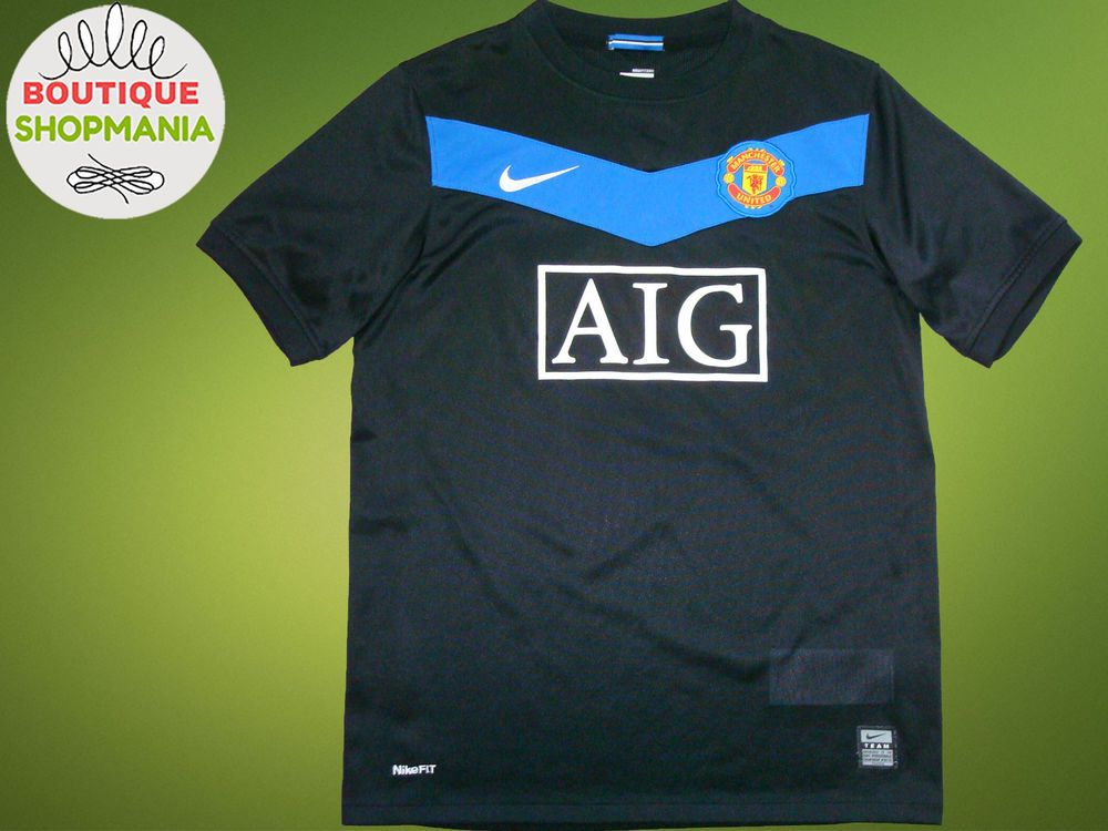 cb580b6ef MANCHESTER UNITED 2009-2010 (YL 158cm) NIKE FOOTBALL SHIRT Jersey Soccer  Camisa  NKE  MANCHESTERUNITED
