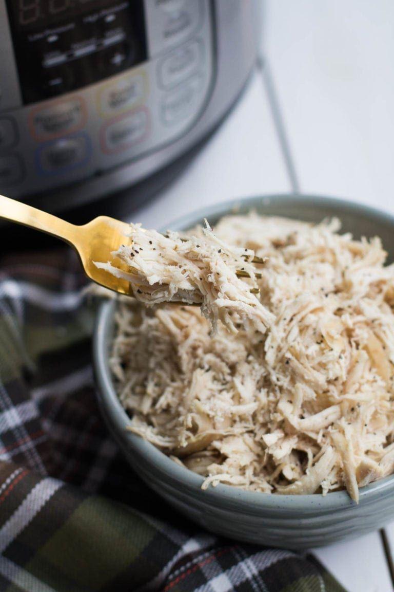 Easy instant pot shredded chicken recipe chicken