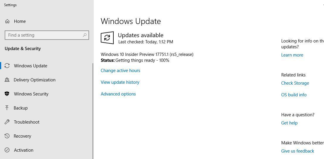 Windows 10 Preview build 19041 (version 2004) pulls
