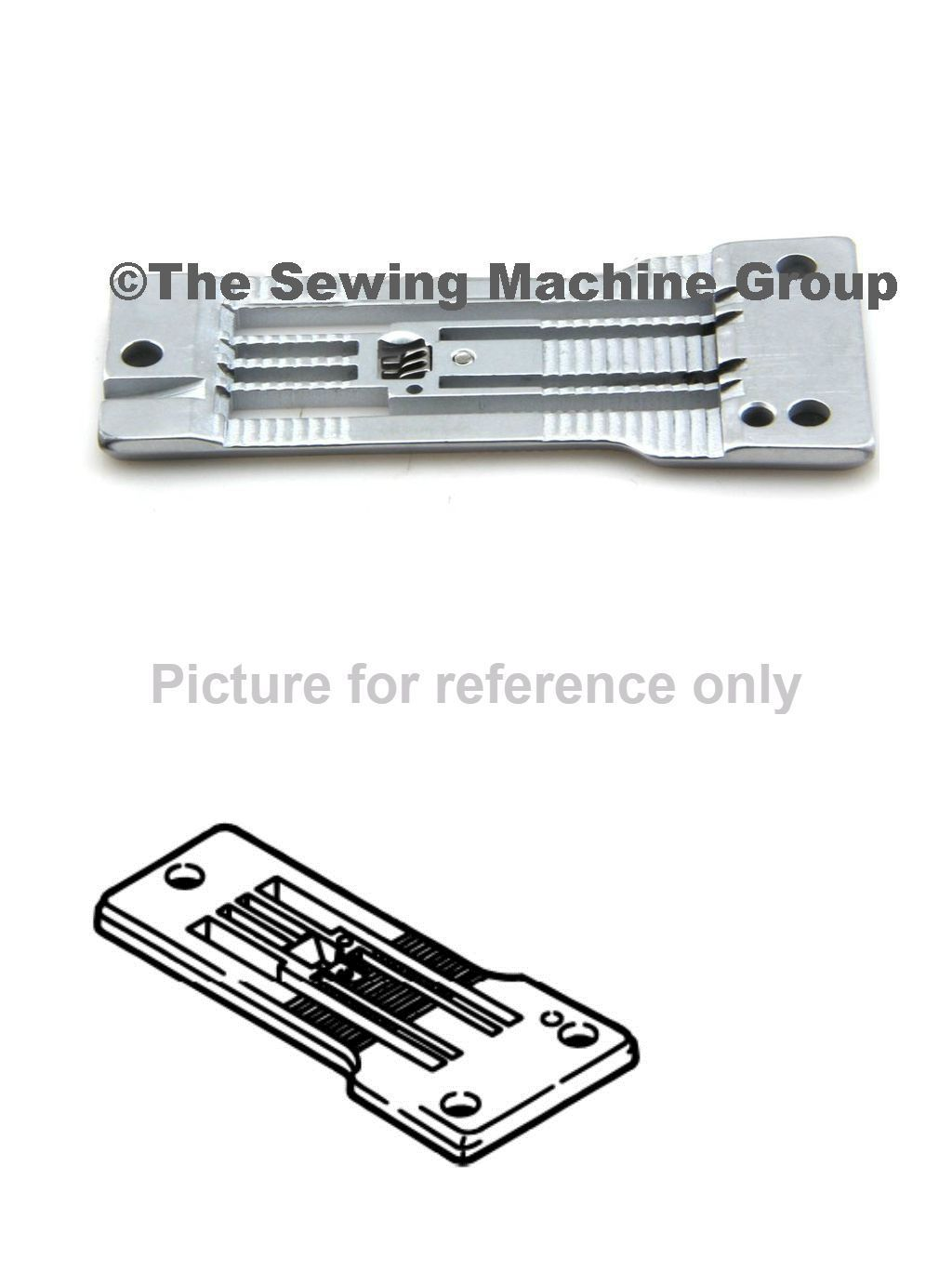 Machine Parts and Needles 146376: Pegasus Needle Plate For Fs700 Series Part 236001A520 -> BUY IT NOW ONLY: $236.99 on eBay!