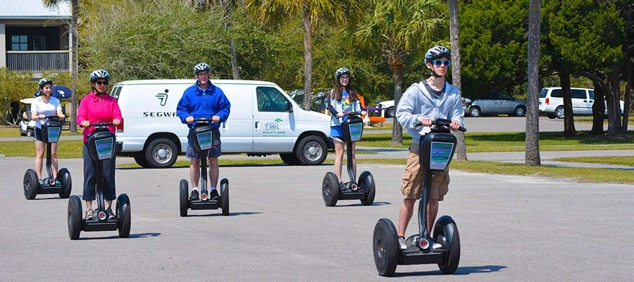 Segway Tours Are One Of The Many Great Ideas For Getting Around Myrtle Beach