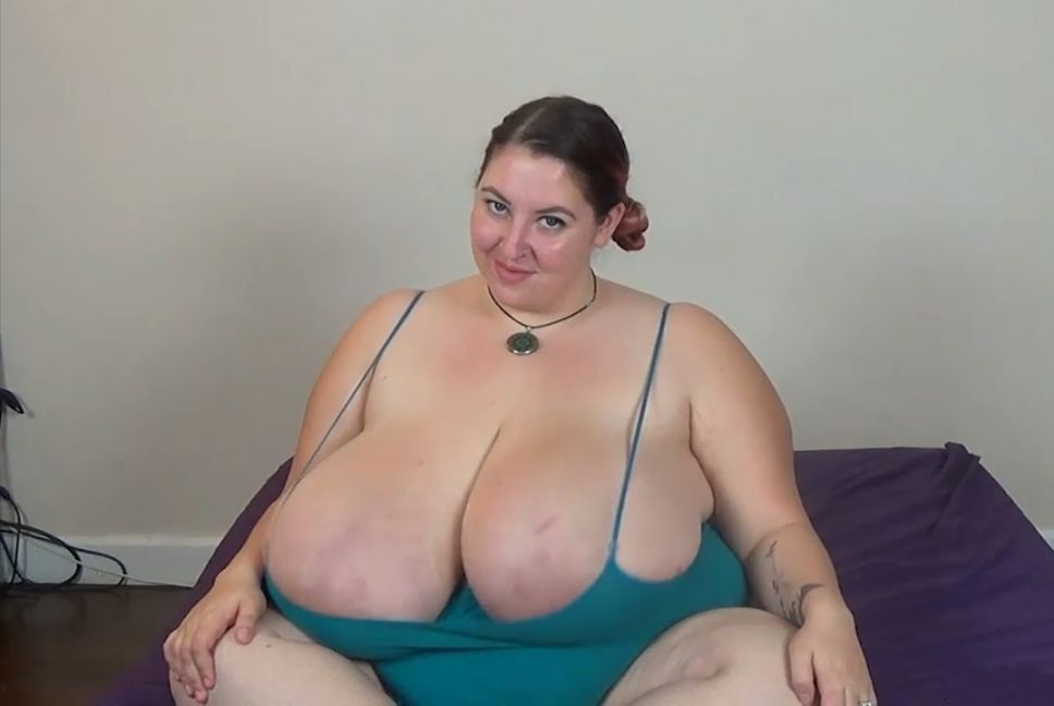 Smoking huge boobs-5350