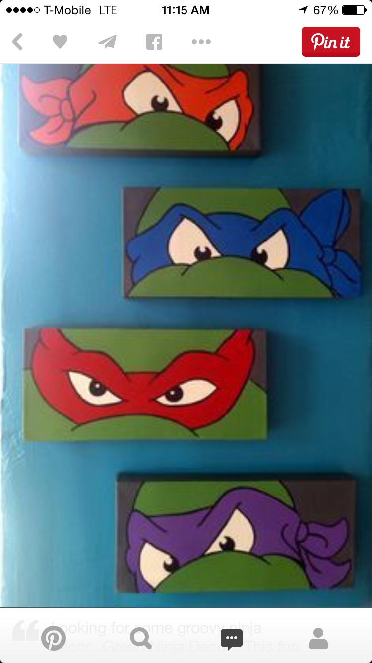 For N    DIY    Teenage Mutant Ninja Turtles Bedroom Ideas. Sorry, Itu0027s A  DIY Project. But N Would Love It!