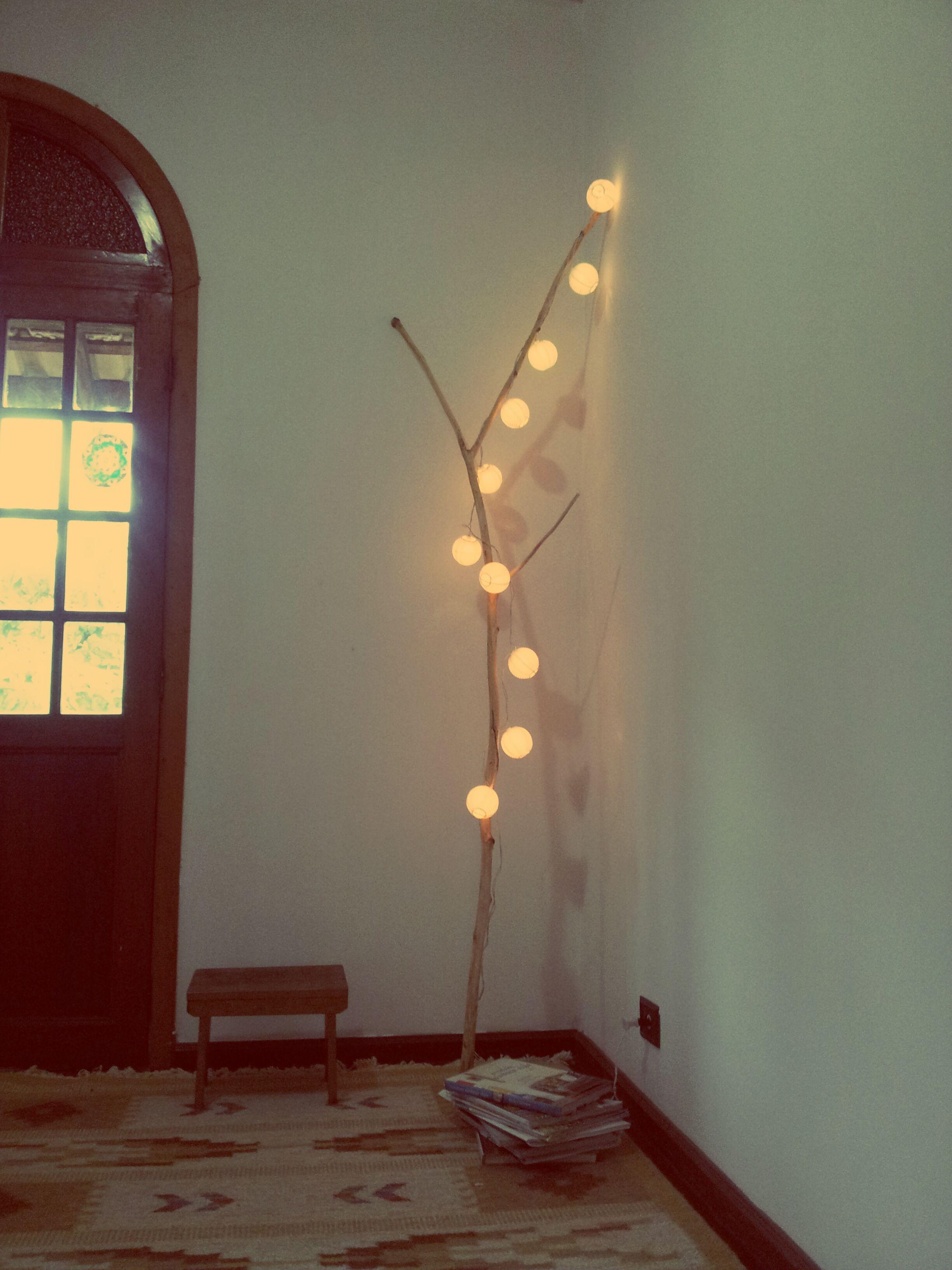 A luminária lá de casa (agora por outro angulo)
