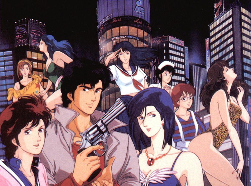 City Hunter Hunter anime, City hunter, Anime city