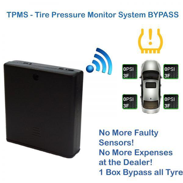 Ford Ka Eu Tpms Bypass Tyre Pressure Monitoring System Sensor Dash Light Reset