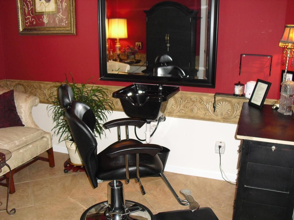 My Future In Home Hair Salon Set Up