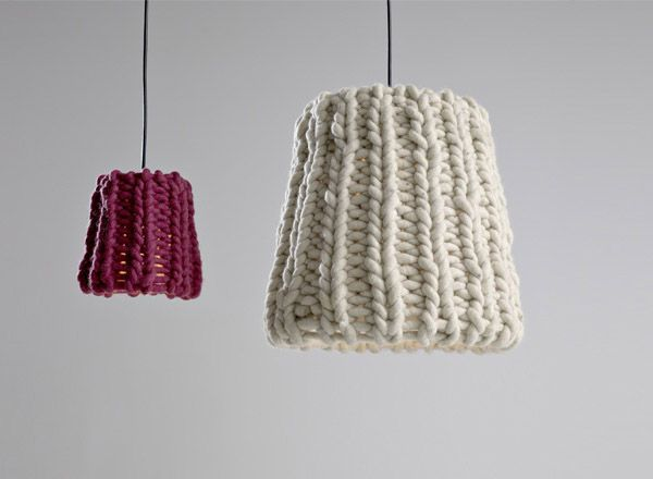 Pendant lighting granny with knitted lamp shades by pudelskern pendant lighting granny with knitted lamp shades by pudelskern modern lighting design lighting design pendant lighting and modern lighting design aloadofball Image collections