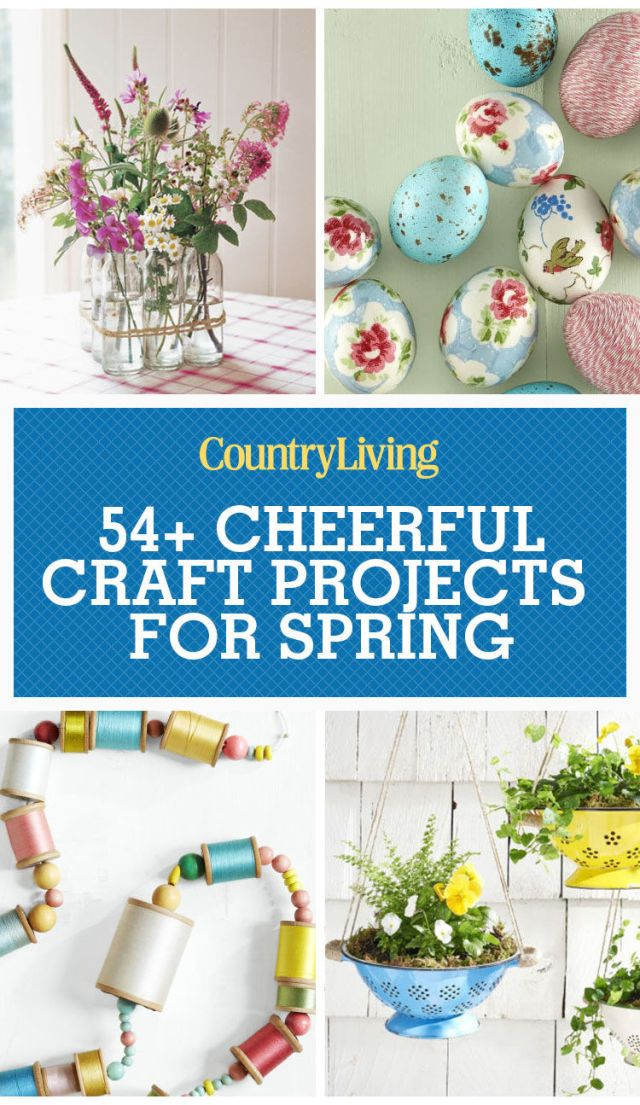 36 Spring Crafts That Will Brighten Your Home