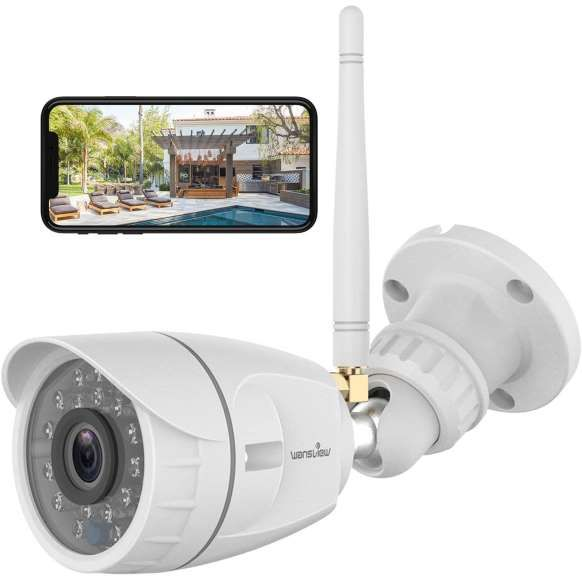 Best Budget Friendly Outdoor Wireless Security Camera Via Amazon Com In 2020 Security Cameras For Home Outdoor Security Camera Home Surveillance