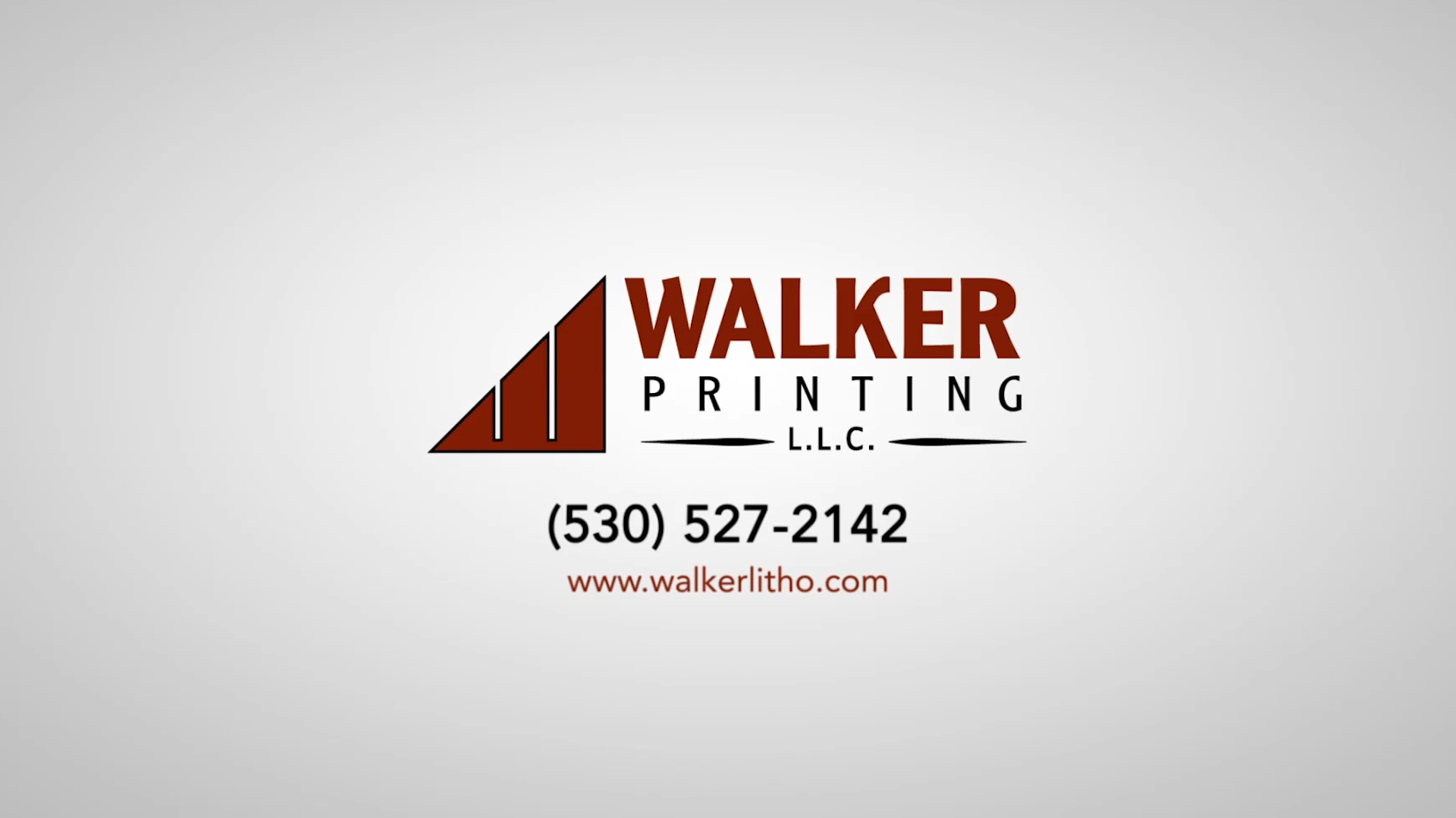 Walker Printing has provided top notch printing services in