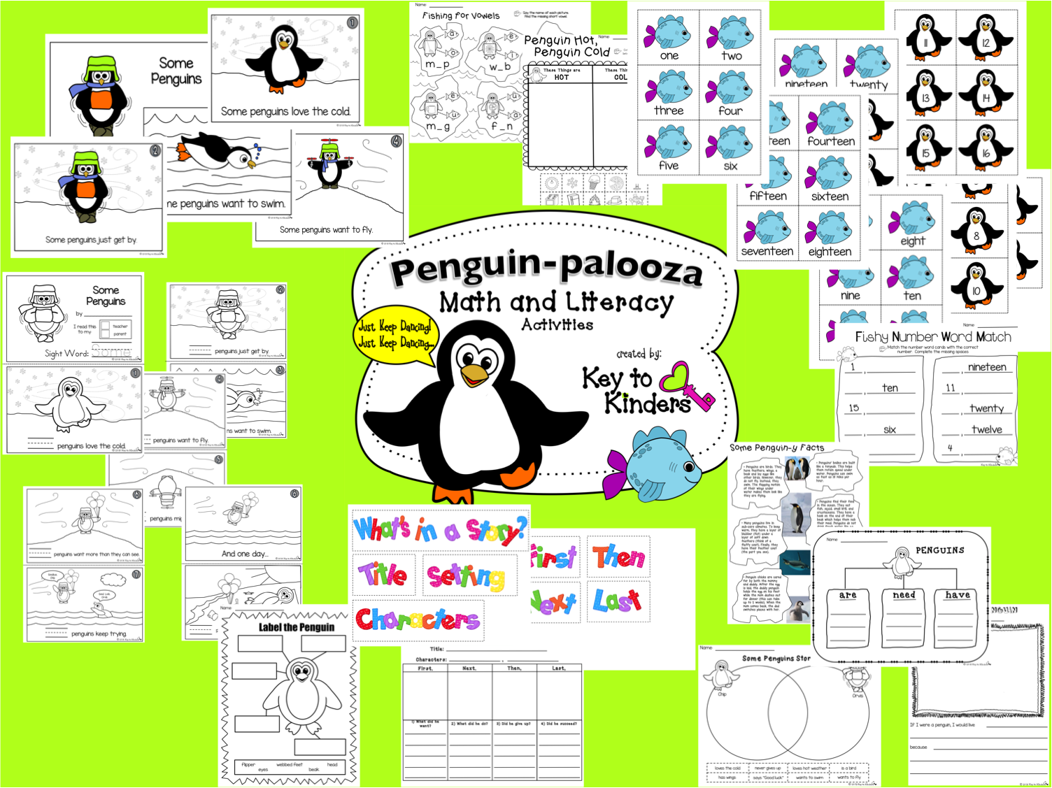 Get Ready For A Penguin Palooza This Unit Contains 41