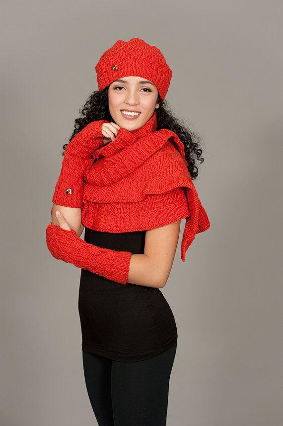 Stricken Slouch Hut von ElenaRosenberg auf Etsy   Stricksachen ...