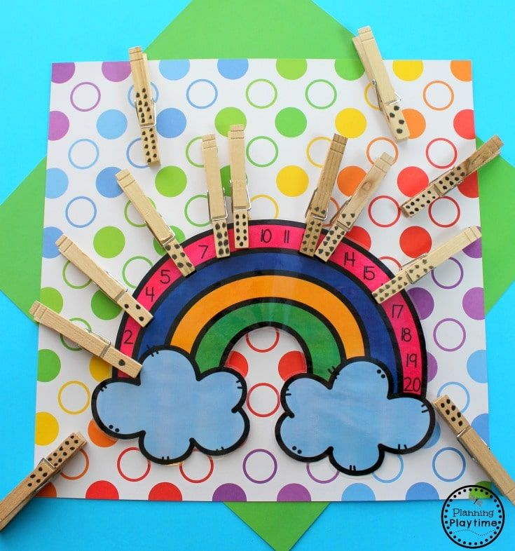 Rainbow Activities | Rainbow activities, Preschool ...