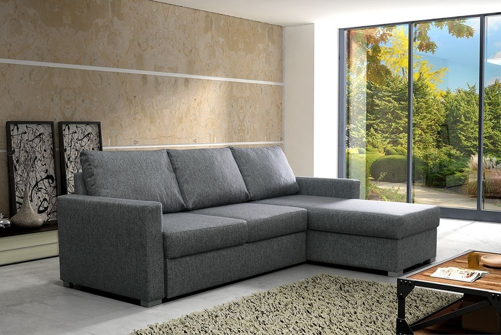 Annabel Corner Sofa Bed With Storage Left and Right Hand