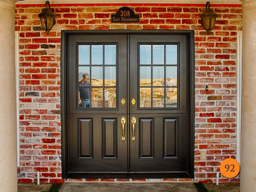 Double Dutch Doors In Fiberglass Dutch Doors Exterior French Doors Exterior Double Entry Doors