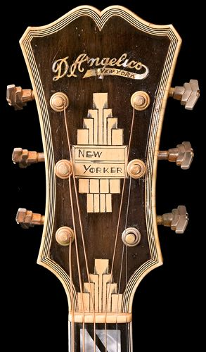 John D Angelico S New Yorker Http Orgs Usd Edu Nmm Pluckedstrings Guitars D Angelico 10827 10827dangelicoguitar H Archtop Guitar Guitar Design Classic Guitar
