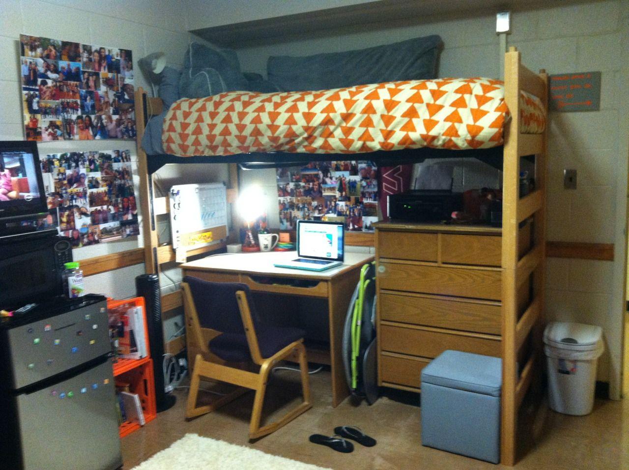 Virginia Tech Cool dorm rooms, Dorm room, Dorm room layouts