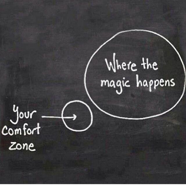 #comfortzone