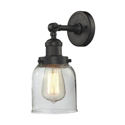 Innovations Lighting 203 Small Glass Bell Wall Sconce