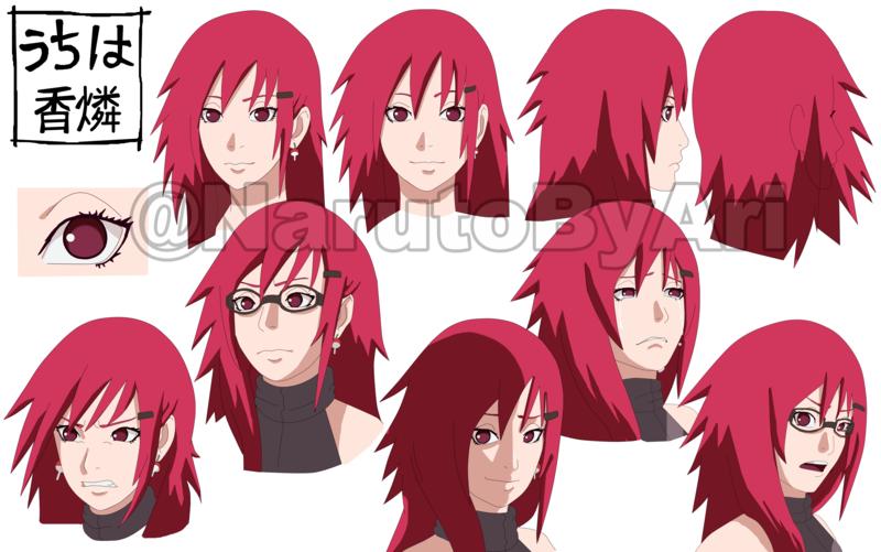 Cm Karin Uchiha Face Sheet By Pumyteh Deviantart Com On Deviantart Uchiha Naruto Shippuden Anime Naruto Girls