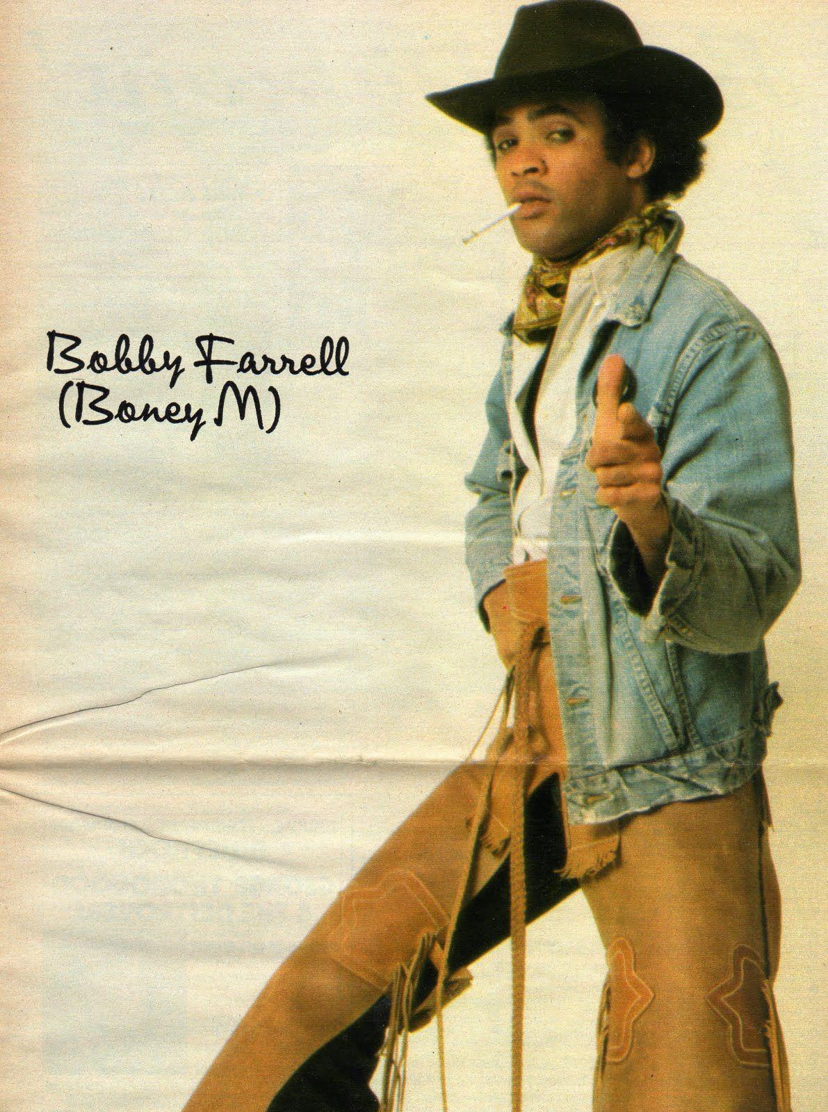 Bobby Farrell Boney M Disco Frank Farian