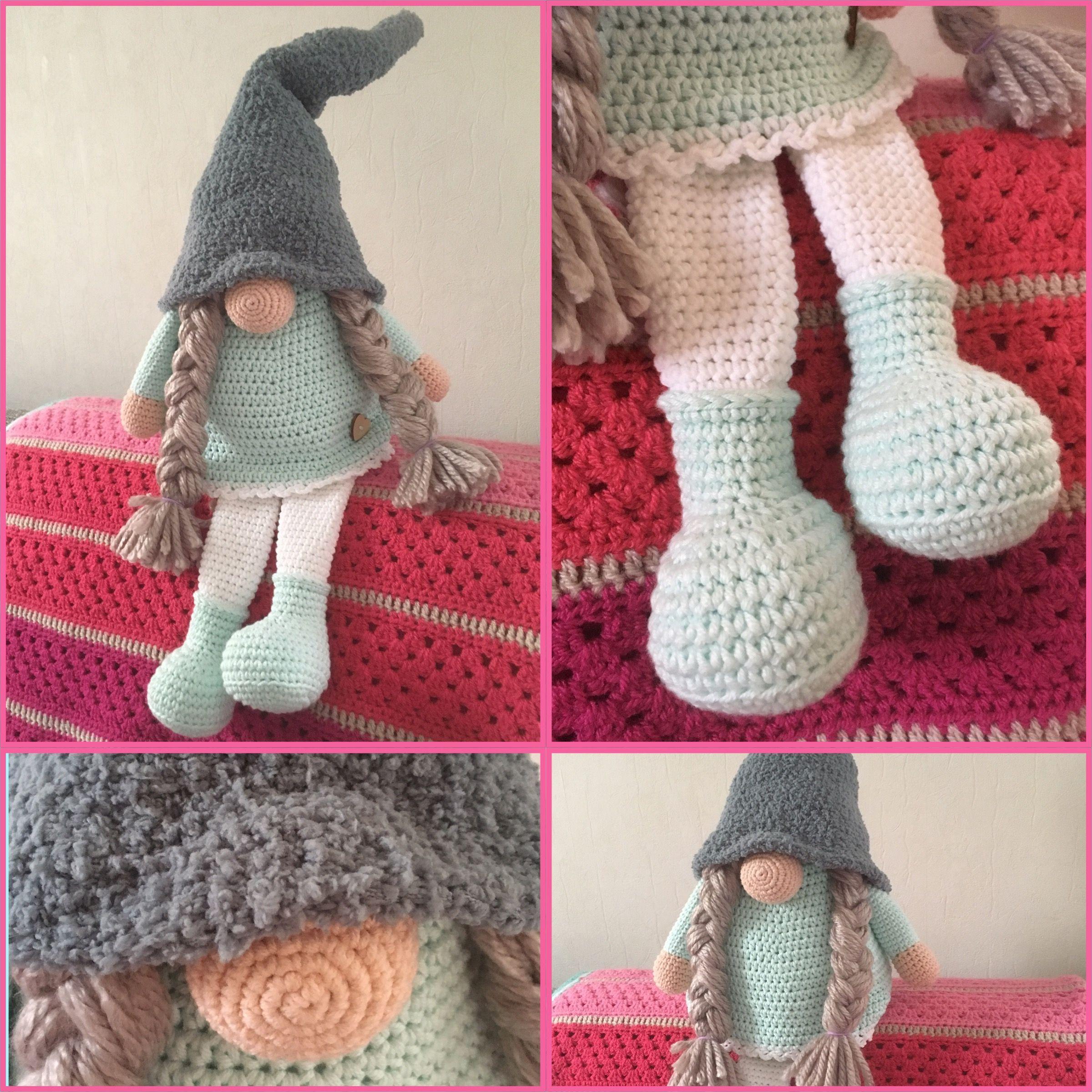 Tomte Patroon Van Cutedutch Haken Crochet Made By